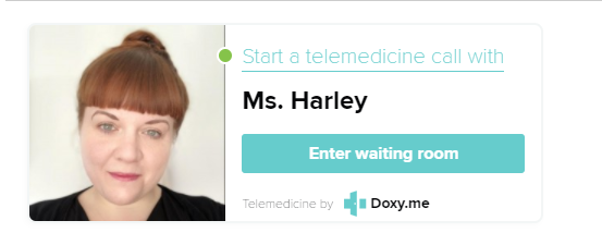Online counselling with Ms Harley